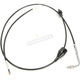 Black Vinyl Coated Idle Cable for Use w/18 in. to 20 in. Ape Hangers - LA-8005ID19B