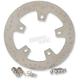 11.8 in. Stainless Steel Drilled Front Brake Rotor - 1710-2404
