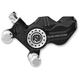 Contrast Cut Direct Bolt-On Four Piston Front Left Brake Caliper - 0053-2949-BM
