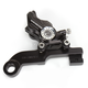Contrast Cut Direct Bolt-On Four Piston Rear Brake Caliper - 1257-0081RSDABM