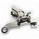 Chrome Direct Bolt-On Four Piston Rear Brake Caliper - 1257-0081RSDACH