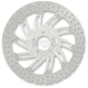 13 in. Supra Polished Two-Piece Brake Rotor - 01333015SUPLS