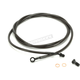 Midnight Stainless Hydraulic Clutch Line for use w/12 in. to 14 in. Ape Hangers - LA-8052C13M