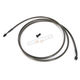 Midnight Stainless Hydraulic Clutch Line for use w/18 in. to 20 in. Ape Hangers - LA-8052C19M