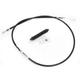 Black Vinyl High Efficiency Clutch Cable - 0652-1916