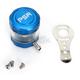 Blue/Clear Front Brake Reservoir - 03-01805-25