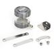 Gunmetal/Clear Front Brake Reservoir - 05-01805-29