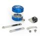 Blue/Clear Front Brake Reservoir - 07-01805-25