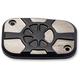 Laser Fustion Satin Black Brake Master Cylinder Cover - LA-F550-00M