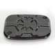 Decadent Black Powdercoat Fusion Hydraulic Clutch Master Cylinder Cover - LA-F550-01B