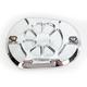 Chrome Brake Master Cylinder Cover - LA-F550-06
