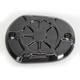Decadent Black Powdercoat Brake Master Cylinder Cover - LA-F550-06B