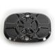Decadent Black Powdercoat Fusion Rear Brake Master Cylinder Cover - LA-F551-00B