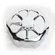 Artistic Chrome Fusion Rear Brake Master Cylinder Cover - LA-F551-01