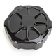 Decadent Black Powdercoat Fusion Rear Brake Master Cylinder Cover - LA-F551-01B
