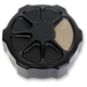Laser  Fusion Satin Black Fusion Rear Brake Master Cylinder Cover - LA-F551-01M