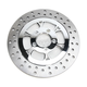 Chrome 11.5 in. Front Left Majestic Two-Piece Brake Rotor - ZSSFLT115102CLF