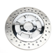 Chrome 11.5 in. Front Right Majestic Two-Piece Brake Rotor - ZSSFLT115102CRF