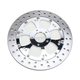 Chrome 11.8 in. Front Left Majestic Floating Brake Rotor - ZSSFLT117102CLF