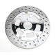 Chrome 11.8 in. Rear Right Majestic Two-Piece Brake Rotor - ZSSFLT117102CRR