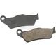 Semi-Metallic Front Brake Pads - 1721-2259