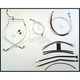 Sterling Chromite II Designer Series Handlebar Installation Kit for use w/15 in.-17 in. Ape Hangers (Non-ABS) - 387542