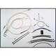 Sterling Chromite II Designer Series Handlebar Installation Kit for use w/18 in.-20 in. Ape Hangers w/ABS - 387623