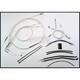 Sterling Chromite II Designer Series Handlebar Installation Kit for use w/15 in.-17 in. Ape Hangers - 387632