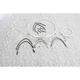 Sterling Chromite II Designer Series Handlebar Installation Kit for use w/14 in.-16 in. Ape Hangers - 387663