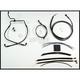 Designer Series Handlebar Installation Kit for use w/12 in.- 14 in. Ape Hanger Handlebars(Non-ABS) - 487541