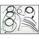 Black Pearl Designer Series Handlebar Installation Kit for use w/18 in.-20 in. Ape Hangers w/ABS - 487553