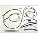 Black Pearl Designer Series Handlebar Installation Kit for use w/12 in.-14 in. Ape Hanger Handlebars w/ABS - 487581