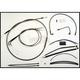 Black Pearl Designer Series Handlebar Installation Kit for use w/18 in.-20 in. Ape Hanger Handlebars w/ABS - 487623