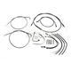 Black Pearl Designer Series Handlebar Installation Kit for use w/12 in.-14 in. Ape Hanger Handlebars w/ABS - 487641