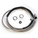Stainless Steel Hydraulic Clutch Line +8 in. - 0661-0015