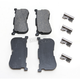 Semi-Metallic Brake Pads - 1720-0547