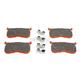 Semi-Sintered V Brake Pads - FA641/4V