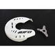 White Front Disc Guard - KT04069-041