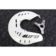 White Front Disc Guard - HU03668-041