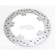 Front 11.8 in. Polished Stainless Steel Brake Rotor - 1710-3155