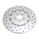 Front 11.8 in. Polished Stainless Steel Brake Rotor - 1710-3157
