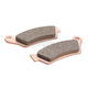Rear Double H Sintered Metal Brake Pads - FA671HH