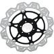 Front Vee Brake Rotor - VR2124BLK