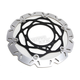 Husaberg/Husqvarna SMX Carbon Look Brake Rotor Kit - SMX6032