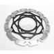 Husqvarna SMX Carbon Look Brake Rotor Kit - SMX6184K9