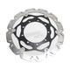Kawasaki SMX Carbon Look Brake Rotor Kit - SMX6309