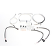 Sterling Chromite II Designer Series Handlebar Installation Kit for Use w/12in.-14 in. Ape Hangers (Non-ABS) - 387681