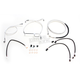 Sterling Chromite II Designer Series Handlebar Installation Kit for Use w/15 in.-17 in. Ape Hangers (Non-ABS) - 387682