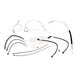 Sterling Chromite II Designer Series Handlebar Installation Kit for Use w/12 in.-14 in. Ape Hangers w/ABS - 387731