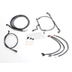 Black Pearl Designer Series Handlebar Installation Kit for use w/12 in.-14 in. Ape Hangers (Non-ABS) - 487681